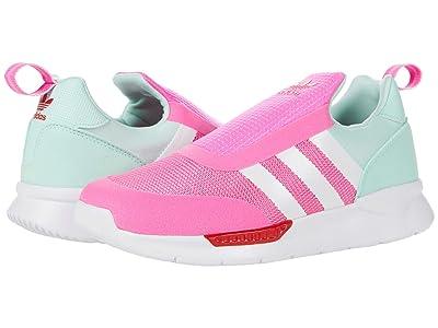adidas Originals Kids ZX 360 (Little Kid) (Screaming Pink/White/Mint) Kid