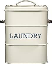 """Kitchen Craft Aufbewahrungsdose für Waschmittel """"Laundry"""", Creme, aus der Living-Nostalgia-Produktreihe"""