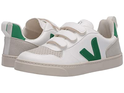 VEJA Kids V-10 (Little Kid/Big Kid) (White Emeraude) Kid