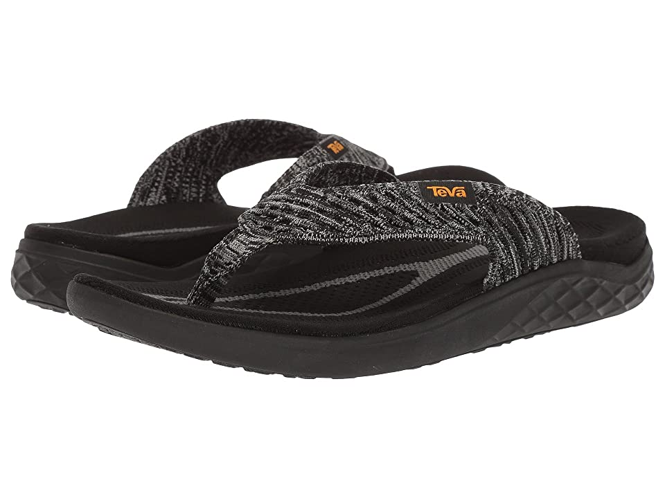 Teva Terra-Float 2 Knit Flip (Black/Grey) Men