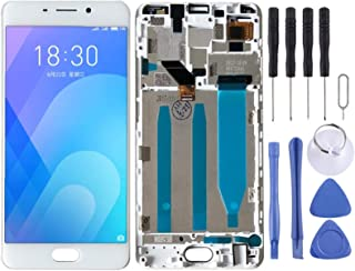 SHUHAN LCD Screen Phone Repair Part LCD Screen and Digitizer Full Assembly with Frame for Meizu M6 Note Mobile Phone Acces...
