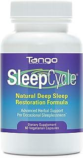 SleepCycle Advanced Sleep Support Formula: All-Natural Herbal Supplement for Healthy and Restorative Sleep