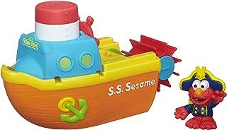 Playskool Elmo Bath Adventure Steamboat Toy