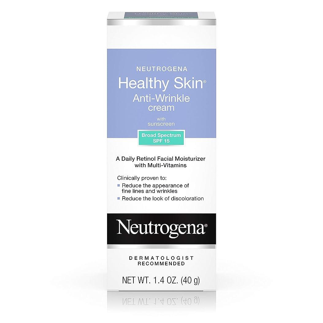 コード空港スラッシュNeutrogena Healthy Skin Anti-Wrinkle Cream SPF#15 40 ml (並行輸入品)