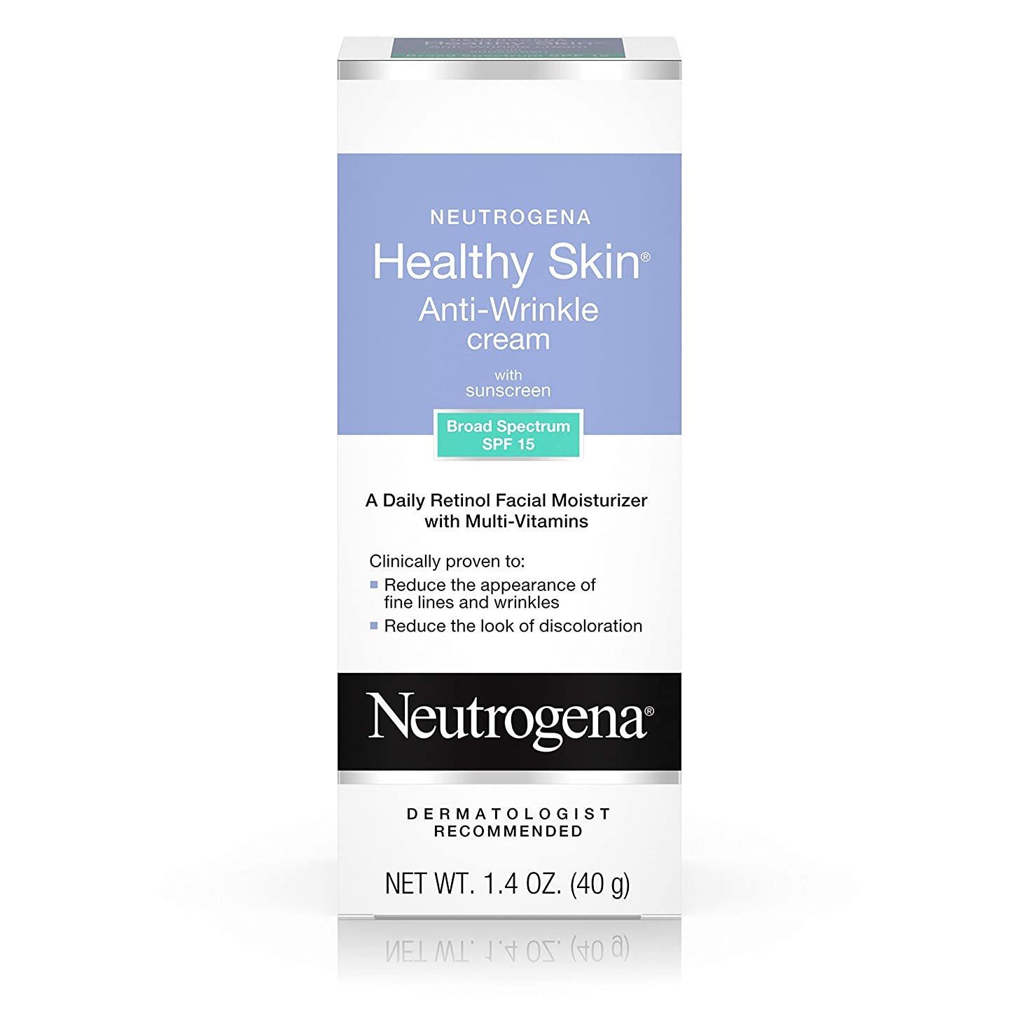 国家上下するソビエトNeutrogena Healthy Skin Anti-Wrinkle Cream SPF#15 40 ml (並行輸入品)