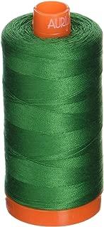 Aurifil A1050-2870 Solid 50W 1422 yd Green Mako Cotton Thread