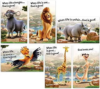 Bible Point Posters - Set of 6 - Roar VBS by Group