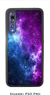 Funda P20 Pro Carcasa Huawei P20 Pro Orion Nebula en el espacio Galaxia azul y morada / Cubierta en TPU y vidrio / Cover Antideslizante Antideslizante Antiarañazos Resistente a golpes Protectora Ríg