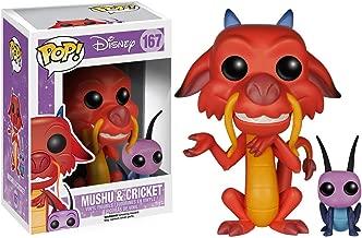 Funko Mushu & Cricket: Disney - Mulan x POP! Disney Vinyl Figure & 1 POP! Compatible PET Plastic Graphical Protector Bundle [#167 / 05898 - B]