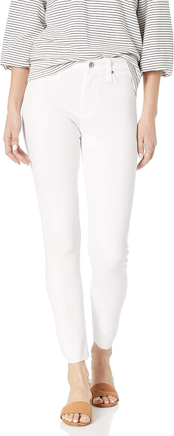 AG Adriano Max 65% OFF Goldschmied Women's Farrah Skinny Hem Ankle Fort Worth Mall Raw