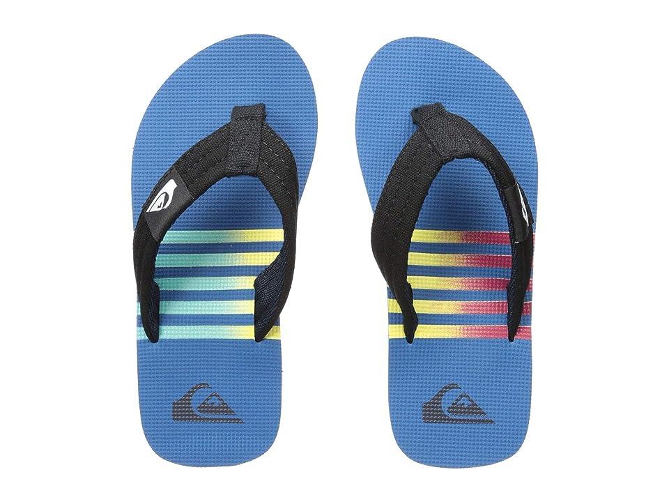 Quiksilver Kids Molokai Layback (Toddler/Little Kid/Big Kid) (Blue/Black/Yellow) Boys Shoes