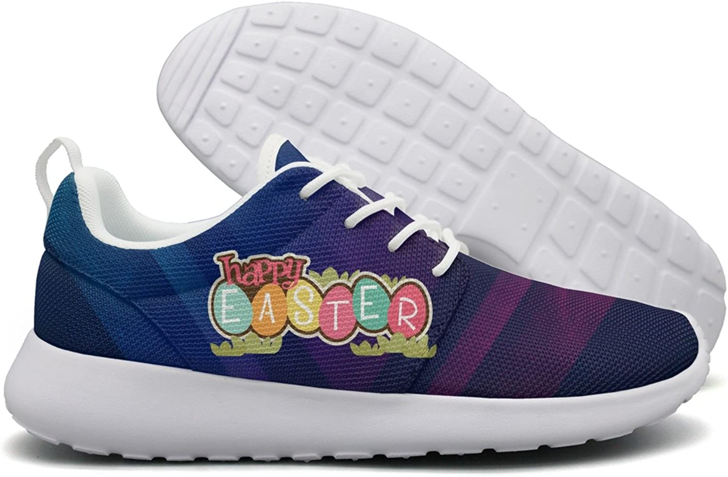 Happy Easter Day 2018 Women Flex Mesh Women Casual shoes