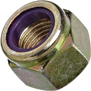 3//8-24 Stainless Nylon Insert Lock Nut Thin Jam Half Thick NTE 3//8x24 10 Pcs