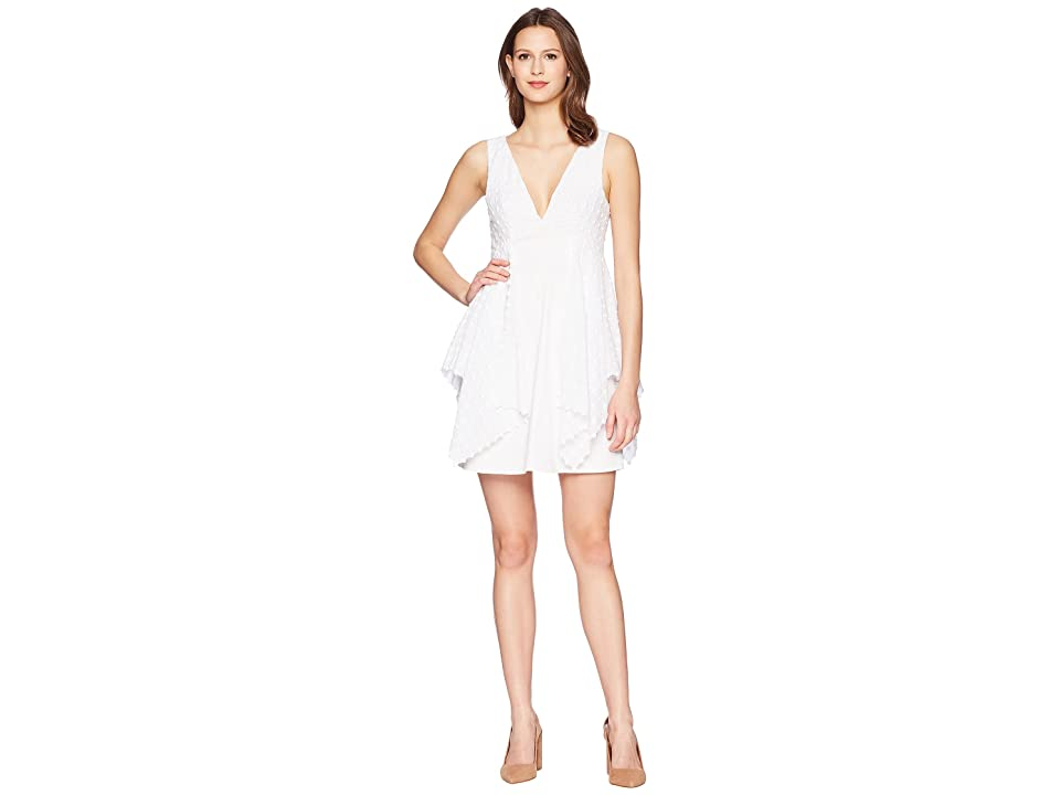 ZAC Zac Posen Prim Dress (White) Women