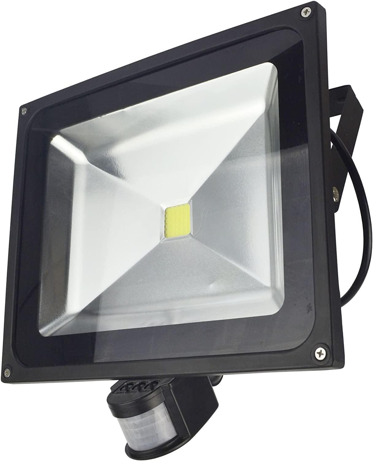 LED 50w Floodlight PIR Security Omaha Mall 3500 White Max 63% OFF Day Lumen Water 6000k