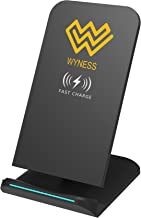 X Wireless Charger, QI Wireless Charger Fast Charging for Samsung Galaxy S9 S9 Plus Note8 S8 S8 Plus S7/S7 Edge, and All QI-Enabled Devices