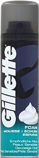 Gillette Basis scheerschuim voor de gevoelige huid, 200 ml, 6 stuks (6 x 200 ml)