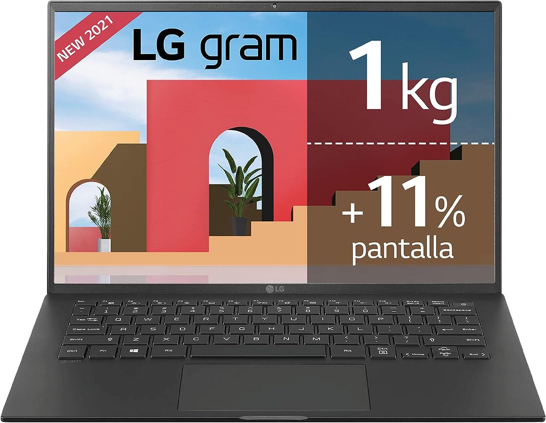 LG gram 14Z90P Windows 10 Home, Ultraligero de 30.2 cm (14