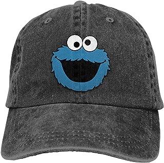 ZDWSH Cooki-e M-onst-er Unisex 100% Cotton Washed Vintage Unisex Cool Baseball Hats for Men Christmas Adjustable Dad Hat
