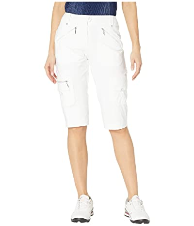 Jamie Sadock 24.5 Airwear Lightweight Hybrid Knee Capris (Sugar White) Women