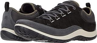 ECCO Women's Aspina Low Hydromax Hiking Shoe, MAGNET/BLACK, 10 M US