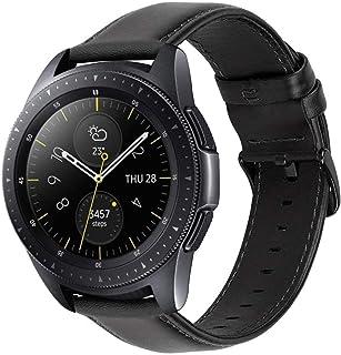 iBazal 20 mm paski do zegarków skórzane opaski na nadgarstek bransoletka kompatybilna z Samsung Galaxy 42 mm/aktywna 40 m...