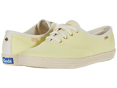 Keds x kate spade new york Champion Neon Canvas (Yellow Canvas) Women