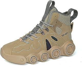 Youpin Moda Sport Scarpe Uomo Personalità Alla Moda Scarpe Da Corsa Spessore Soled Aumentato Uomini Sneakers Luminose Outd...