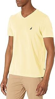 Nautica Men's J-Class Logo V-Neck T-Shirt