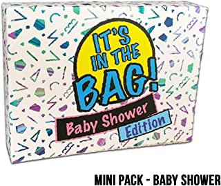 It's in The Bag! - Baby Shower - Newest Game for Parties! Laugh Out Loud in This Game of Teamwork. Describe, Guess & Charades! Act Fast in This Popular Quick-witted Card Game! 4-20 Players!