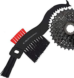 VeloChampion Road Bike Bicycle MTB Hybird Easy Compact Cleaning 5 Multi Head degreaser Scrubber Maintenance Thistle Brush