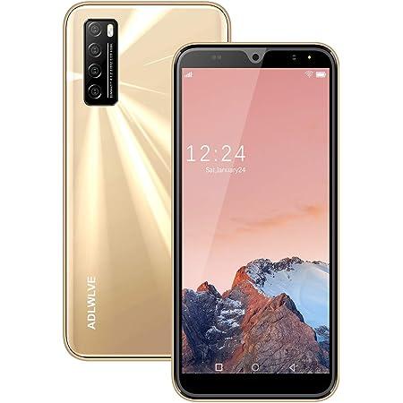 Moviles Libres Baratos 4G,6.3Pulgadas 3GB RAM 32GB ROM / 64GB Smartphone Libre Android 9.0 Face ID teléfonos móviles gratuitos, 8MP 4600mAh,Dual SIM ...