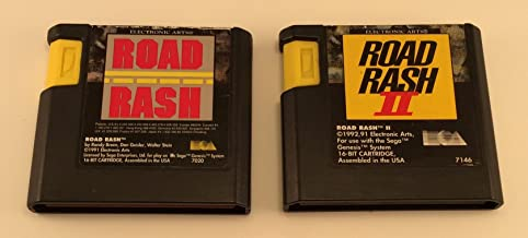 Sega Genesis Road Rash I and II Bundle (2 Games) [video game]