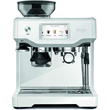 Sage Appliances SES880 - Cafetera espresso, color blanco: Amazon.es: Hogar