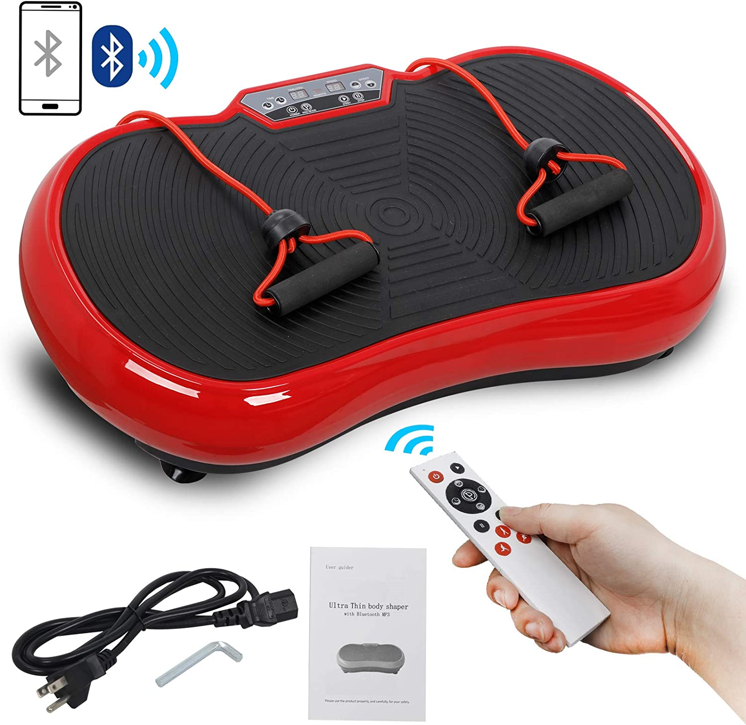 SUPER DEAL Pro Vibration Inexpensive Plate Exercise Body Whole - Machine Wor Cheap sale