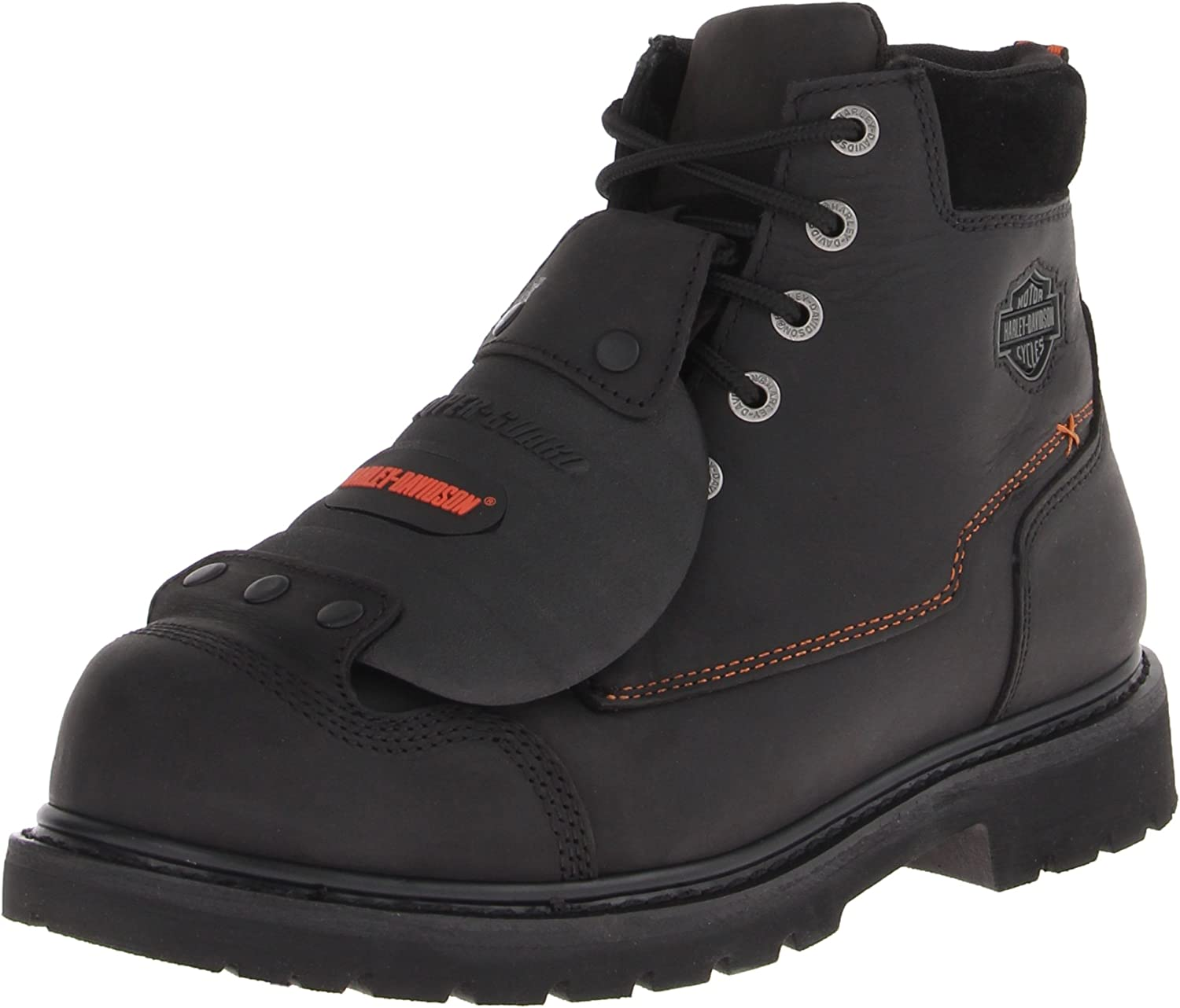 Special sale item Harley-Davidson Men's Jake Steel Toe New Free Shipping Safety Bla Motorcycle Boot