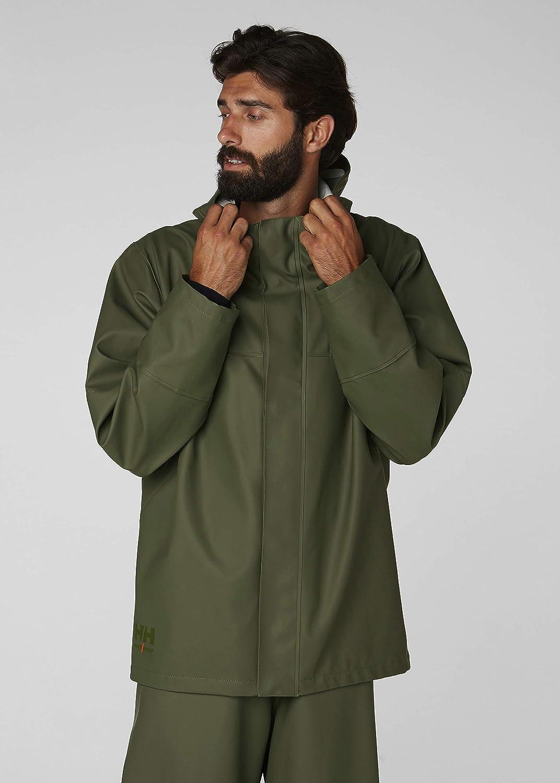 Helly Hansen lluvia chaqueta 70283 Storm fishing Rain Jacket 299 Dark Orange//Black