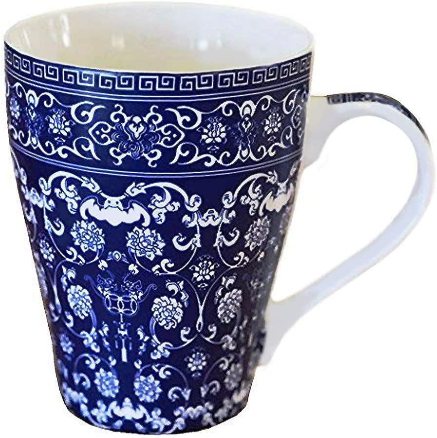 Blue And Max 75% OFF White Porcelain Coffee Sale Mug - China Gift Cup Tea