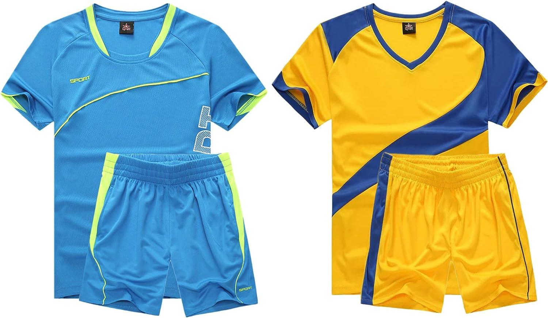 M2C Boys 2-Pack List price Jersey Soccer Knit Sport Set Luxury Uniform Shirt Team