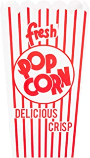 1279 Great Northern Popcorn 100 Movie Theater Popcorn Boxes .79 Ounce Open Top
