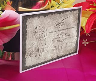 Acrylic Mirror Invitations   Luxury Acrylic Invitations   Acrylic Wedding Invitation with Envelopes   Christmas Party Favor   016