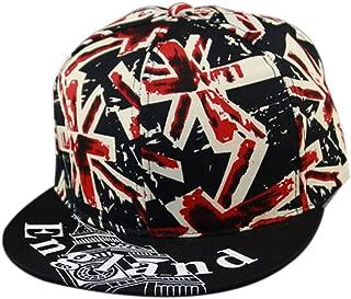 Thenice Hip-hop Graffiti Uk Flag Baseball Hat Summer Visor Cap