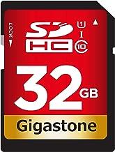 Gigastone 32GB SD Card UHS-I U1 Class 10 SDHC Memory Card High Speed Full HD Video Canon Nikon Sony Pentax Kodak Olympus Panasonic Digital Camera