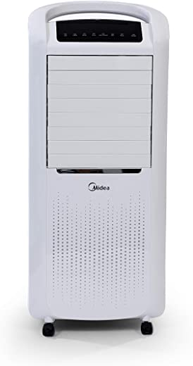 Midea AC200W Air Cooler with Remote (60W, 3 Speed, White), 1 Year Warranty