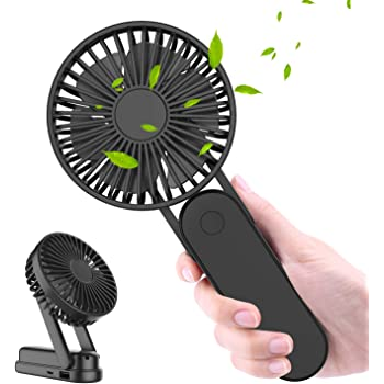 Handheld Electric Fans Mini Portable Outdoor Fan with Rechargeable Handle Desktop for Home Outdoor Sport Camping Traveling Office