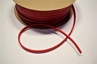 Bright Red Vinyl Welt Cord Piping Marine Auto Fabric Boat Upholstery 10 Yards