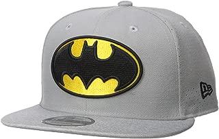 New Era Cap Young Men's Batman Perf Trick 9FIFTY Snapback Cap Hat, Gray, One Size