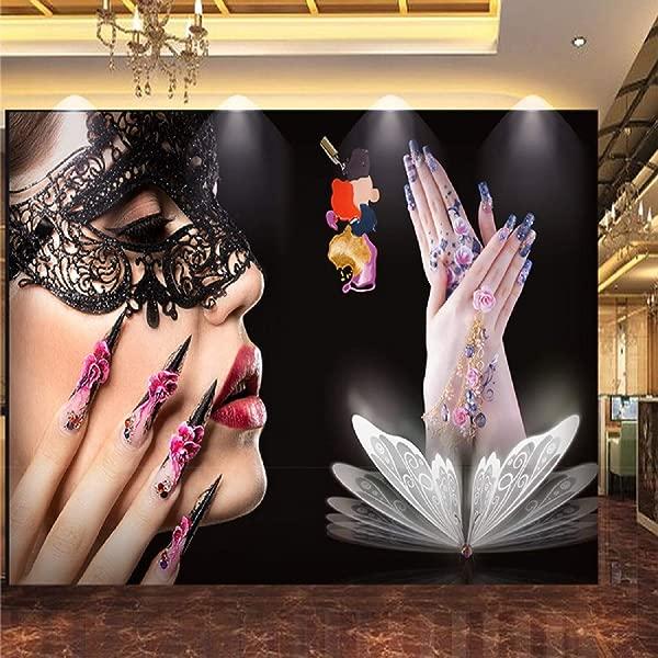 Wallpaper 3D Beauty Salon Nail Tool Custom Large Mural 3D Effect Living Room Bedroom Wall Murals