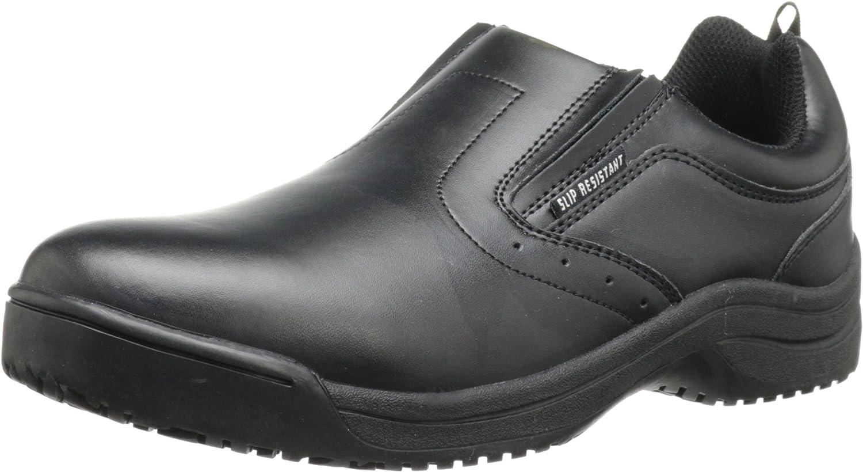 Skidbuster 5072 Men's Leather Slip Resistant Slip-On