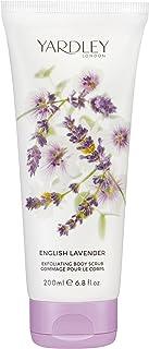 Yardley London English Lavender Exfoliating Body Scrub 200ml/6.8oz